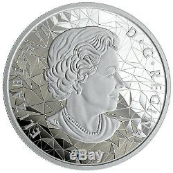 1 Ounce Silver Proof Multifaceted Animal Head Wolf 25 $ Canada 2019 Kanada