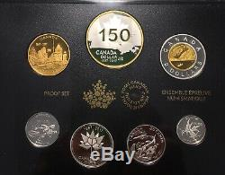 1867 2017 Canada RCM 999 Silver Proof Set with original box & coa