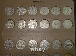 1922-2020 Canadian Nickel Dansco Set Includes 1925, 1926 Far 6, silver proofs