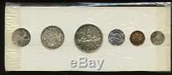 1954 Canada Uncirculated Silver Proof-Like PL Set