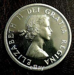 1956 CANADA SILVER DOLLAR PL Proof Like