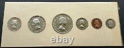 1956 Canada Silver Proof-Like Set GEM UNC Flawless Coins SCARCE