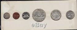 1957 Canada Uncirculated Silver Proof-Like PL Set
