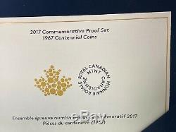 1967-2017 Canada Centennial 7-Coins Pure Silver Proof Set