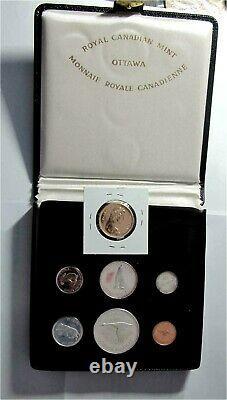 1967 Canada Confederation $20 Dollars Gold & Silver Coin set Proof Superb patina