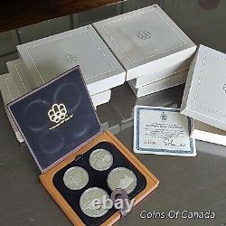 1976 Canada Montreal Olympics Silver 28 Coin Set Proof 30 oz Sil. #coinsofcanada