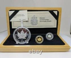 1979-1989 3 Piece Canada Proof Set Gold Silver Platinum 1/10 1 Oz Trusted