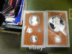 1980 Johnson Matthey Canada 6 Coin Silver Beaver/Castor Proof Set Edward the 7th