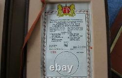 1980 Johnson Matthey Canada 6 Coin Silver Beaver Proof Set Ser #0088/1500 E2426