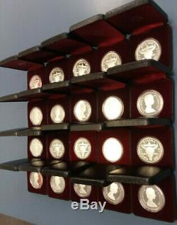 1982 Canada Silver Proof Dollars Regina Centennial 20 piece Lot