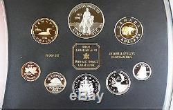 1998 Canada Proof Set- 125th ANN RCM Silver Dollar in Presentation Folder with COA