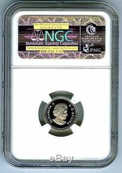2004 Canada Silver Proof 10 Cent Ngc Pf70 Ucam Dime Super Rare Only 1 Known