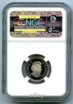 2004 Canada Silver Proof 5 Cent Ngc Pf70 Ucam Nickel Super Rare Only 2 Known