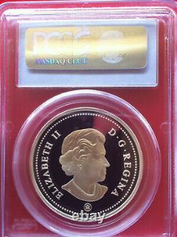 2006 Canada Silver $ Dollar Medal of Bravery Enamel PCGS PR69DCAM Low Mint
