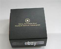2007 CANADA SILVER 20 DOLLARS ULTRA CAMEO SNOWFLAKE IRIDESCENT 50.10gr