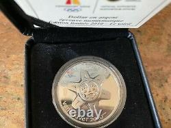2010 Canadian Mint Limited Edition Proof Silver Dollar Canada Coin The Sun