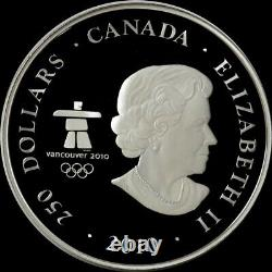 2010 SILVER CANADA PROOF KILO OLYMPICS EAGLE 32.15 oz 999 FINE $250 COIN