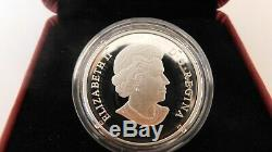 2011 Canada 20 Dollar -9999Ag-Canadian Tulip with Glass Lady Bug
