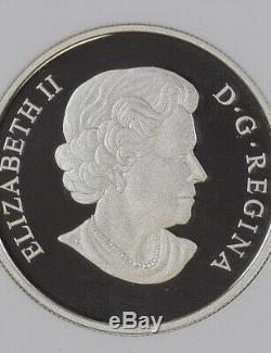 2011 Canada NGC PF 70 Ultra Cameo $20 Tulip with Ladybug 1 oz Silver Coin