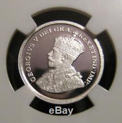 2012 CANADA 1c FAREWELL PENNY NGC PF70 UC 1920-1936 Design Silver Proof Cent