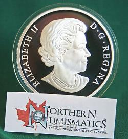 2012 Canada $50 Calgary Stampede Centennial 5 oz. Proof finish 99.99% silver