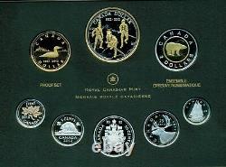 2012 Canada Fine Silver PROOF SET 200th ANNIVERSARY WAR OF 1812