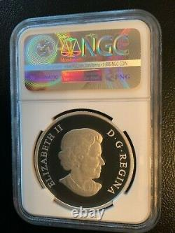 2013 2014 2015 1 oz. 999 Silver PROOF $20 Butterflies of Canada NGC PF70 69 Set