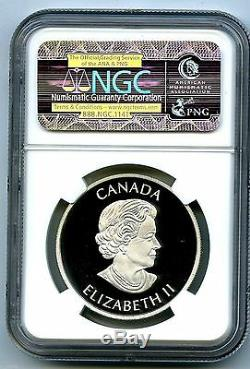 2013 Canada $5 Silver Proof Devils Brigade Ngc Pf70 Rare First Releases Label