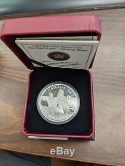 2013 Canada The Bald Eagle 4 1oz Silver Proof Coin Collection Set