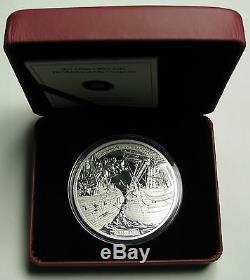 2013 Proof $50 5 oz. 9999 silver Shannon Chesapeake War 1812 Canada fifty