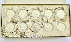 2014-2015 $15 (set Of 10). 9999 Pure Silver Proof Coins Set Exploring Canada