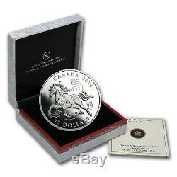 2014 Canada 1 oz Silver $15 Lunar Horse Proof (withBox & COA) SKU #78065