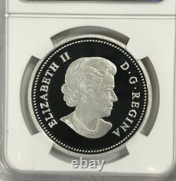 2014 Canada $20 Superman Annual #1 colorized Silver NGC PF70 Proof