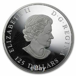 2015 Canada 1/2 Kilo Proof Silver $125 Whooping Crane 500