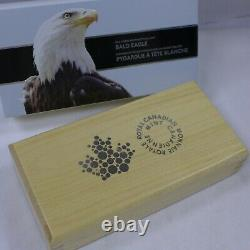 2015 Canada Fractional Silver Bald Eagle Set with Box & COA. 9999