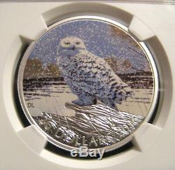 2016 Canada $20 SNOWY OWL NGC PF70 UC ER Early Releases 1 oz Silver