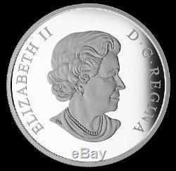 2016 Star Trek Enterprise $20 Canada Color Proof Silver Coin 50th Anniversary