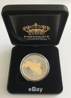 2017 1oz. 999 Canada Predator Lynx Gold Gilded & Ruthenium Silver Coin