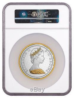 2017 Canada Big Coin Alex Colville Rabbit 5 oz. Silver Gilt NGC PF69 ER SKU47399