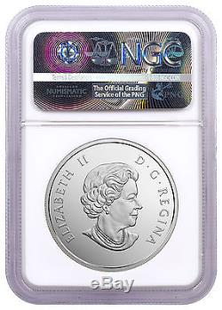 2017 Canada Canoe Tranquil Times 1 oz Silver Colorized NGC PF70 UC ER SKU48362