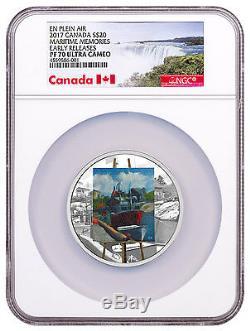 2017 Canada En Plein Air Maritime Memories 1 oz Silver $20 NGC PF70 ER SKU48229