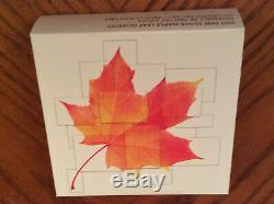 2017 Canada Reverse Proof Silver Maple Leaf Quartet (with OGP and COA)