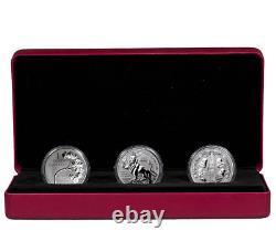 2017 Canadian Lore Forgotten 1927 Designs 1 oz. Silver Rev Proof 3-Coin SKU47752