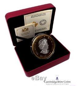 2017 Fine Silver $50 Whispering Maple Leaves Canada Coin Box COA 3oz