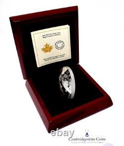 2017 Fine Silver Proof $50 Maple Leaf In Motion Coin Canada Box COA 5oz