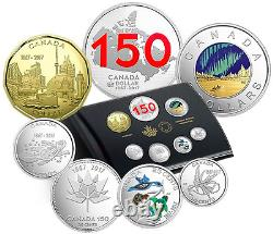 2017 Limited Edition Silver Dollar Proof Set Coins, Our Home & Native Land