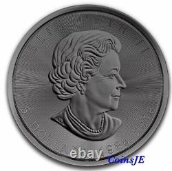 2018 $5 Canada 1 oz. 9999 Silver Maple Leaf 30th Anniversary Burning Silver Coin