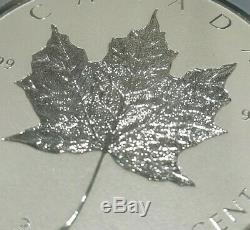 2018 Canada 3 oz Silver INCUSE Maple Leaf NGC PF70 Reverse Proof First Releases