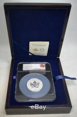 2018 Canada $50 Maple Leaf 3 oz Silver NGC PF70 First Day OGP Rev Proof BJ382