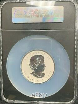 2018 Canada Maple Leaf Incuse 3 Oz Silver. 999 NGC PF70 Reverse Proof Q3F3
